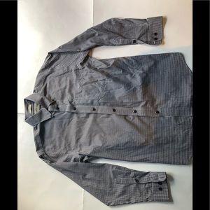 Orvis checkered button down shirt
